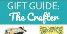 Gift Guide:  The Crafter / Needs some ideas for what to get the crafty, DIY-er, artsy person in your life?  This is the board for you!  Ten gifts every crafter wants this year!