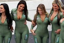 Indy Car Grid Girls