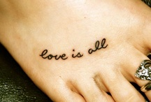 tattoo love / by Ellie Trombetta