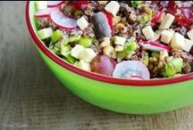 Salads / Healthy vegan and vegetarian salads.