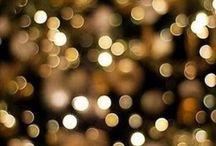..gold & glitter..