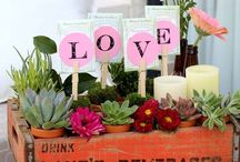 Show You Care / Here's some creative ways to make the next flower, baked good or other gift you give so much more meaningful by adding a fun little personalized touch. For #Valentine's day or any day!