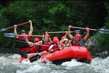 Rafting in the Smoky Mountains / by Visit Gatlinburg