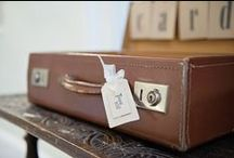 Be Seated / Be Seated - Vintage and Rustic Table plan, post box and table name/number frame ideas.