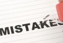 Mistakes that Entrepreneurs Should Avoid / by Adrian Fleming