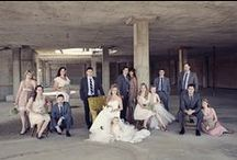 Wedding Group Shots / Photography to inspire group shots at weddings: Families, friends, bridal parties, groomsmen etc...