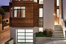 modern exteriors / Modern houses