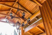 Timber Frame Homes (Artisan) / Custom Timber Frame Homes designed and built by Artisan Log Homes.