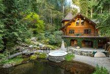 Full Scribe Log Homes (Artisan) / Custom Full Scribe Log Homes designed and built by Artisan Log Homes.