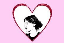 LITERARY VALENTINES / Happy Valentine's Day to the special bookworm in your life