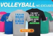 NO EXCUSES / Check out our No Excuses line at All Volleyball! / by All Volleyball