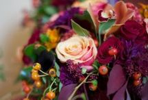 2015 Wedding Trend - Antique Luxe / Combining the deep & luxuriating tones of purple, burgundy, green & gold to create a rich, antique wedding theme.