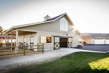 My Dream Barn / If I ever get to have the horse and mule at home!