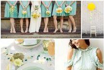 {Wedding Ideas} Color Combos