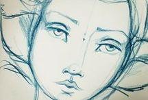 ART: Fancy Doodles / by Charlene Divino-Williams
