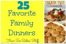 Dinner Recipes / by Susan {The Confident Mom}