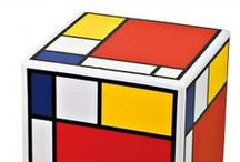 A Celebration of Mondrian / Inspired by Tate's Exhibition - Mondrian and his Studios - 2014 / by CultureLabel