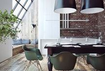 Interiors Inspiration / Clever designs and creative ideas for a beautiful home.