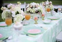 """Mint & Silver"" Wedding Board / Pinspiration for a wedding on June 1st 2013"