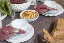 Tablescapes + Table Settings / Entertain in style with a beautiful table setting as unique as you!