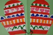 winter - mittens / mitten reading, books, math, small motor skill building, crafts - and they keep your hands warm