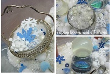 winter / snowflakes and experiments and art projects and cute crafts - all sorts of fun activities for when it is cold outside and the white stuff is on the ground