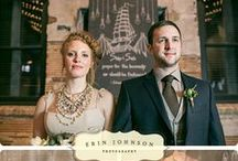 Editorial Weddings by Erin Johnson Photography / Editorial Wedding  Styled Wedding Shoots