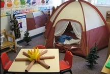 camping / fun camping theme activities for kindergarten children