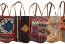 Kilim Bags | Carpet Bags / Handmade, one-of-a-kind handbags, backpacks, and boho bags, made from recycled vintage Turkish Kilim rugs!