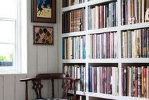Living with Books / Bookcase eye candy / by Julie Mayfield