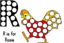 Rosie the Hen / activities for children for Rosie the Hen - or about other books about chickens - or about chickens