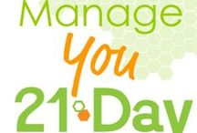 Manage You 21 Day Challenge  / Create YOUR blueprint for success #women #productivity #mindset