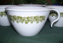Vintage Corelle by Corning / Vintage Corelle wares / by Gypsum Moon
