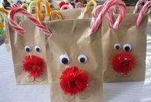 Christmas - reindeer / reindeer art and learning activities for kindergarten students