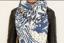 SCARVES / A Silk Scarf is always a classic and the perfect canvas for a piece of Art.