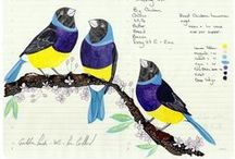 Birds / Feathered creatures and the art inspired by them