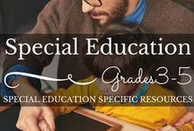 Grades 3-5 Special Education / Only the highest quality teaching resources for students with special needs. Please be considerate and share other author's work as you share your own.