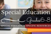 Grades 6-8 Special Education / Only the highest quality teaching materials, classroom resources and intervention tools for grades 6-8.  Please be considerate and share other's work as you share your own. Also, please do not post duplicate pins. Thank you!