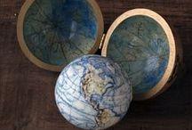 M A P S / Globes, Maps / by CultureLabel