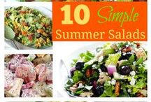 Salad Recipes / by Susan {The Confident Mom}