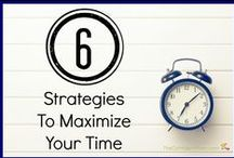 Managing Time & Getting Organized / by Susan {The Confident Mom}