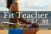 Fit Teacher / Emotional and Physical Wellness is important for everyone, but especially for caregivers. This board has resources for anyone wanting to be healthier!
