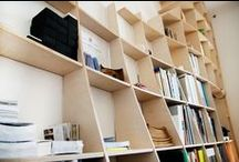 Waffle Library - furniture design