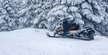 Gone Snowmobiling / For locals or out-of-staters, here's your winter inspiration and updates for Snowmobiling adventures in New Hampshire!