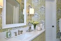 Bathrooms / The home of fabulous bathrooms. Any style, any size, any look.  They just all have to be fabulous!