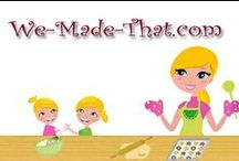 We Made That / If you are looking for kid friendly crafts, yummy recipes, or fun activities to do with your kids then you will find it here!  Check out our website at we-made-that.com