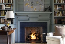 Fireplaces / Fireplaces are like staircases in a home. As large architectural features, they make a big style statement in your home's interior design.  This board has all kinds of fireplaces, stone, brick, marble clad, metal, etc. You're bound to find a fireplace you'll love!