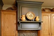 Not a white kitchen! / by DESIGNED w/ Carla Aston