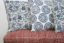 L I N D S A Y  A L K E R / A collection of hand silkscreened designs for fabrics & wallpapers