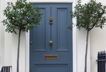 Doors / The front door says so much about who is inside. / by DESIGNED w/ Carla Aston